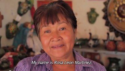 Rosa Leone Martinez FINCA Mexico client