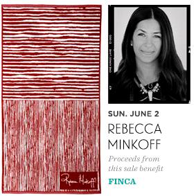 Rebecca Minkoff supports FINCA