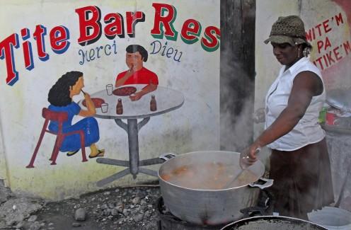 Chriselia Archill FINCA Haiti client