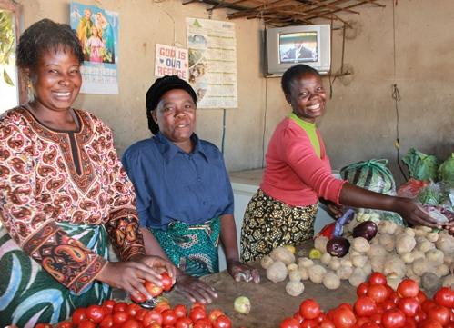 Victoria Banda FINCA Zambia client