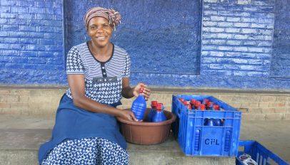 FINCA Malawi client Joyce Mandevu