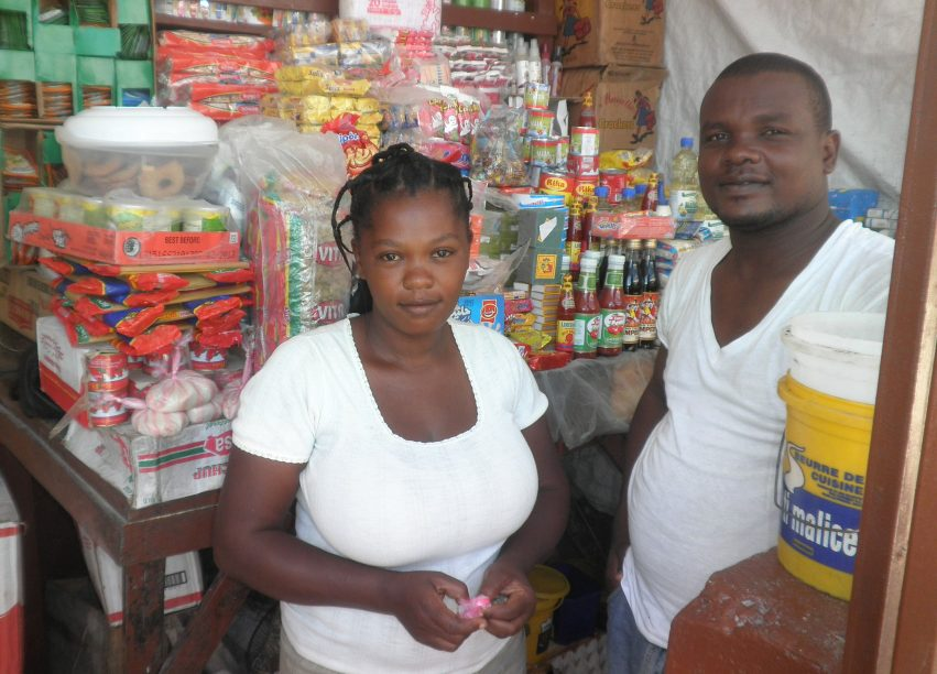 Yvros FINCA Haiti client