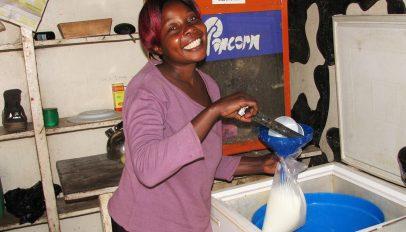 Aminah Nanyombi, Uganda milk seller
