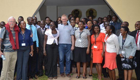 Rupert Scofield in Uganda, 2017