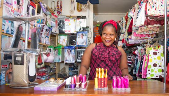 FINCA Uganda Client Angella Namutebi
