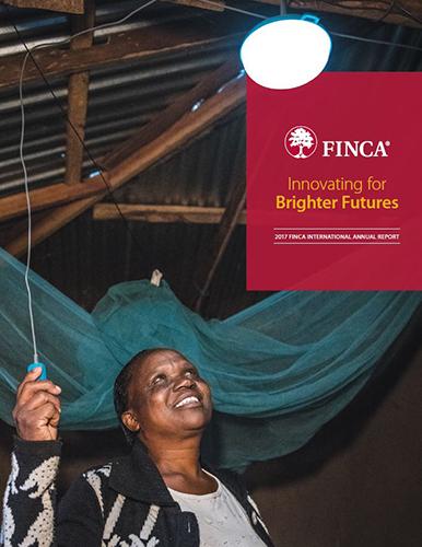 FINCA 2017 Annual Report Cover