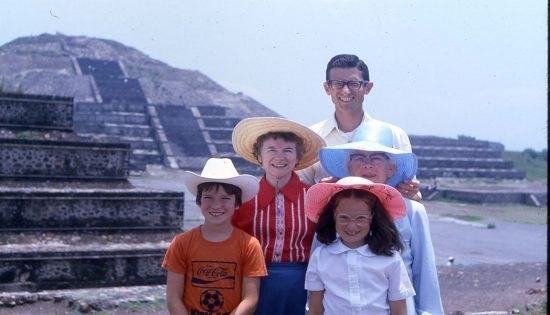 The Kuehnes in Mexico