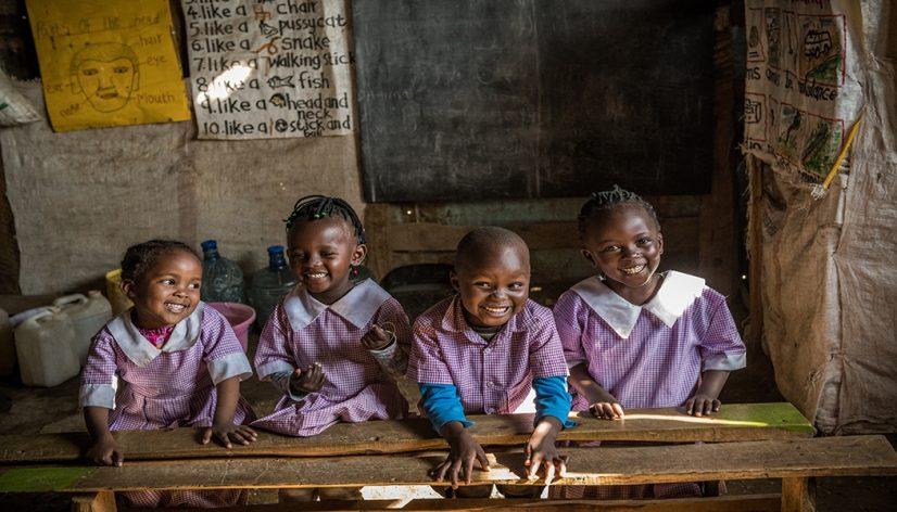 Peris Wanjiku's Students in Classroom