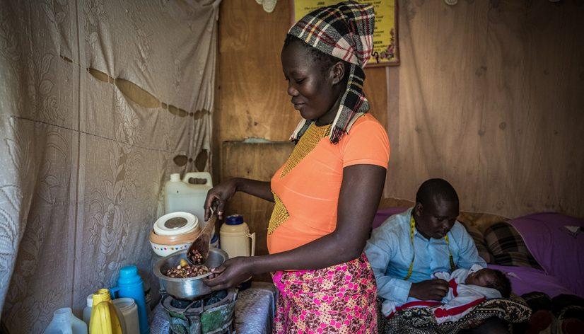 Susan Otunga using Sanivation's clean charcoal alternative