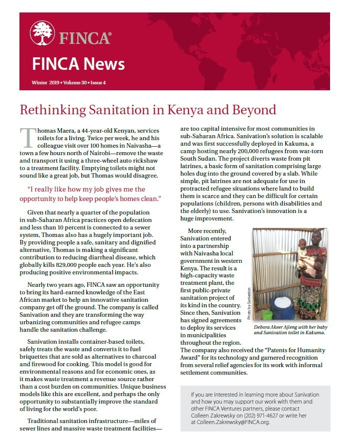 FINCA-News-Winter-2019