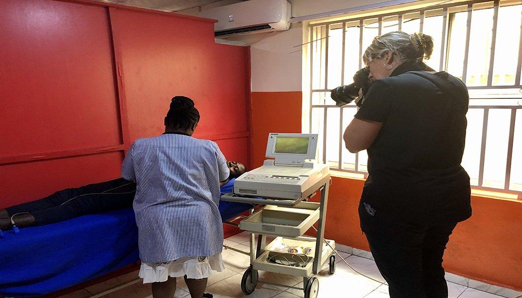Medical Diagnostic Equipment Nigeria MDaaS Alison Wright
