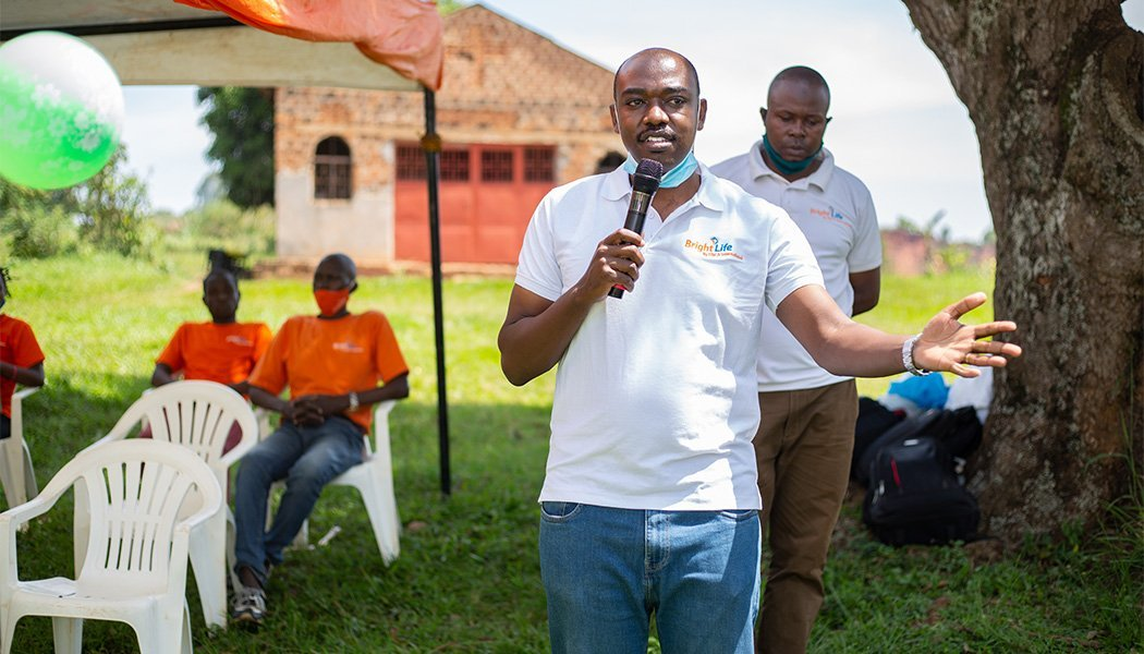 BrightLife's Nelson Mugisha Introduces the New Solar Lamp Library