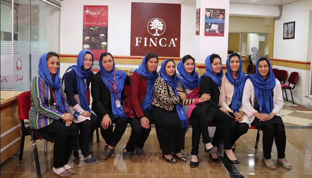 FINCA Aghanistan's women-only bank branch empowers women to take control of their finances.