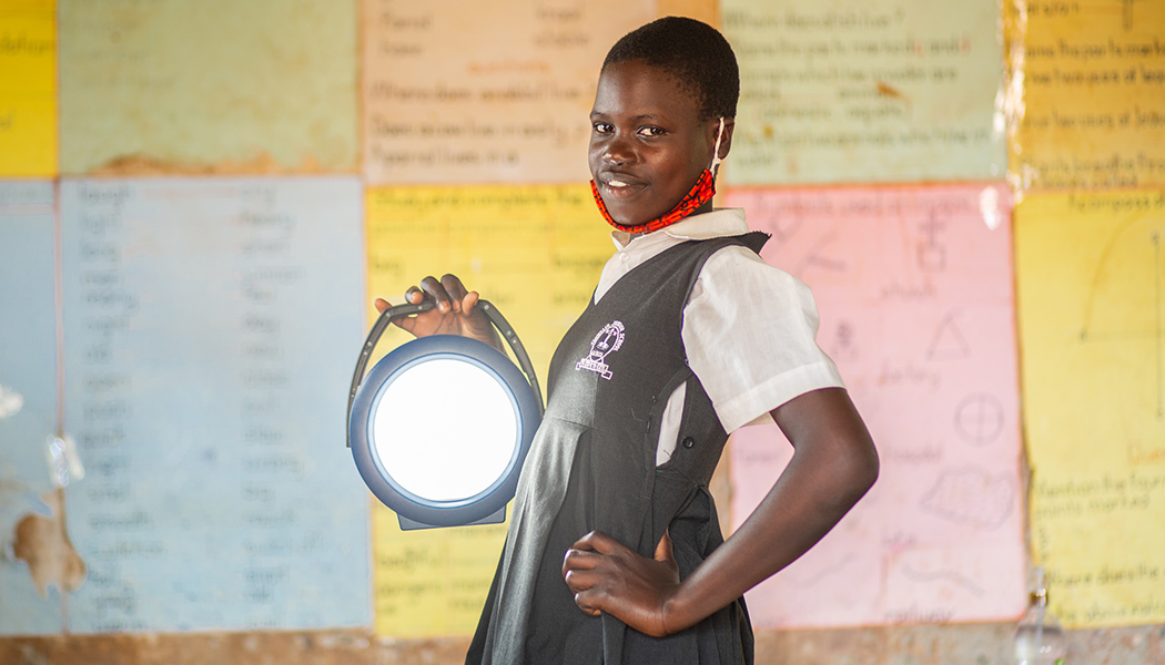 BrightLife uses sustainable solar lighting to empower women and girls.